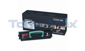 LEXMARK E350 TONER CARTRIDGE BLACK 3.5K (E250A21A)