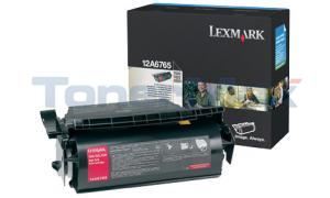 LEXMARK T620 TONER CARTRIDGE BLACK 30K (12A6765)