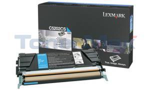 LEXMARK C520 C530 RP TONER CART CYAN (C5202CS)