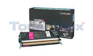 LEXMARK C524 C532 TONER CARTRIDGE MAGENTA RP 5K (C5240MH)