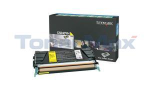 LEXMARK C524 C532 TONER CARTRIDGE YELLOW RP 5K (C5240YH)