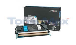 LEXMARK C524 C532 TONER CARTRIDGE CYAN 5K (C5242CH)