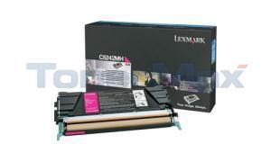LEXMARK C524 C532 TONER CARTRIDGE MAGENTA 5K (C5242MH)
