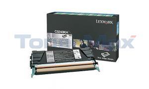 LEXMARK C524 C534 TONER CART BLACK RP 8K (C5240KH)