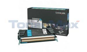 LEXMARK C534 TONER CARTRIDGE CYAN RP 7K (C5340CX)