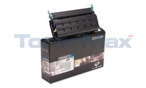 LEXMARK C534 TONER CARTRIDGE CYAN 7K (C5342CX)