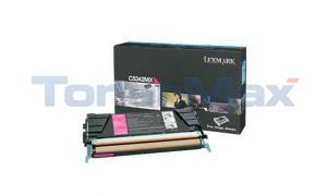 LEXMARK C534 TONER CARTRIDGE MAGENTA 7K (C5342MX)