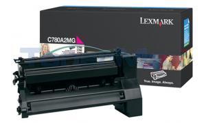 LEXMARK C780 X782 TONER CARTRIDGE MAGENTA 6K (C780A2MG)