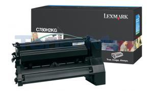 LEXMARK C780 X782 TONER CARTRIDGE BLACK 10K (C780H2KG)
