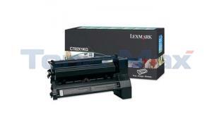LEXMARK C782 X782 TONER CARTRIDGE BLACK RP 15K (C782X1KG)
