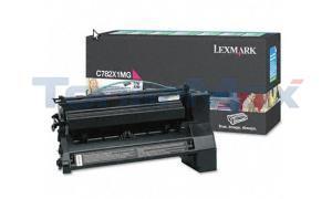 LEXMARK C782 X782 TONER CTG MAGENTA RP 15K (C782X1MG)