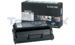 LEXMARK E320 TONER CARTRIDGE BLACK RP HY (08A0478)