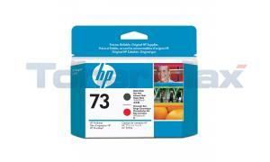 HP NO 73 PRINTHEAD MATTE BLACK AND CHROMATIC RED (CD949A)