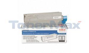 OKIDATA C5500N C5800LDN TONER CART BLACK 5K (43324404)