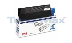 OKIDATA C3200 TONER CARTRIDGE CYAN (43034803)