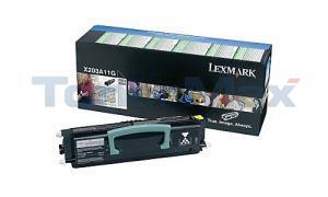 LEXMARK X204N RP TONER CARTRIDGE BLACK (X203A11G)