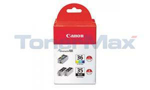 CANON PGI-35/CLI-36 INK BLACK AND COLOR (1509B007)