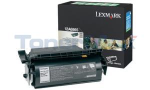 LEXMARK T620 TONER CARTRIDGE BLACK RP 30K (12A6865)