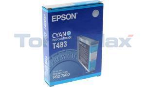 EPSON STYLUS PRO 7500 INK CYAN 110ML (T483011)