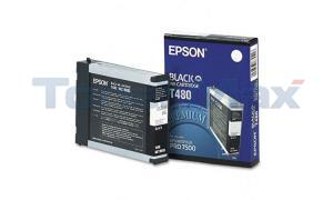 EPSON STYLUS PRO 7500 INK CART BLACK 110ML (T480011)