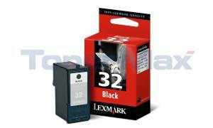LEXMARK Z800 NO. 32 PRINT CART BLACK (18C0032)