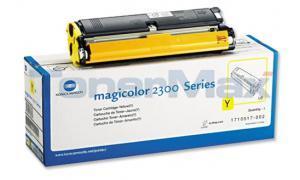 KONICA MINOLTA MAGICOLOR 2300 TONER YELLOW 1.5K (TYPE US) (1710517-002)