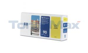HP DESIGNJET 4000 NO 90 PRINTHEAD AND CLEANER YELLOW (C5057A)