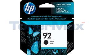 HP NO 92 INK BLACK (C9362WN)