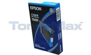 EPSON STYLUS PRO 4000 7600 9600 INK CTG CYAN 110ML (T543200)