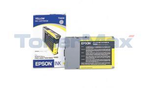 EPSON STYLUS PRO 4000 7600 9600 INK CTG YELLOW 110ML (T543400)