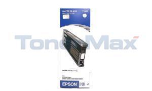 EPSON STYLUS PRO 4000 4800 INK CART MATTE BLACK 220ML (T544800)