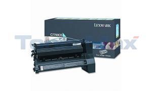 LEXMARK C770 RP PRINT CART CYAN 6K (C7700CS)