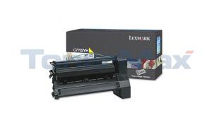 LEXMARK C770 PRINT CART YELLOW 10K (C7702YH)