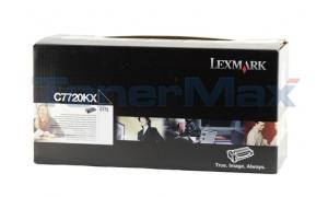 LEXMARK C772 PRINT CARTRIDGE BLACK RP 15K (C7720KX)