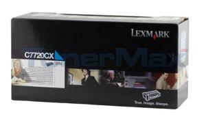 LEXMARK C772 PRINT CARTRIDGE CYAN RP 15K (C7720CX)