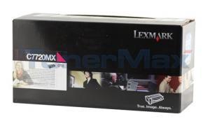 LEXMARK C772 PRINT CARTRIDGE MAGENTA RP 15K (C7720MX)