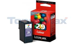 LEXMARK 29 INK CARTRIDGE COLOR RP (18C1429)