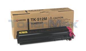 KYOCERA MITA C5020 5030 TONER KIT MAGENTA (TK-512M)