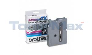 BROTHER TX TAPE CTG FOR PT-8000 BLACK/WHITE 3/8IN X 50 (TX-2211)