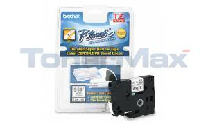 BROTHER TZ TAPE CTG BLACK ON WHITE 1/8IN (TZ-N201)