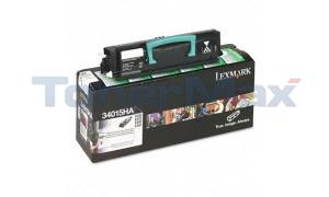 LEXMARK E330 TONER CARTRIDGE BLACK RP 6K (34015HA)