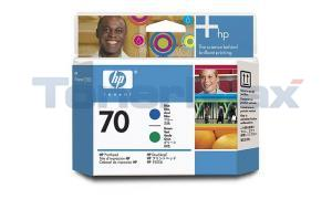 HP DESIGNJET Z3100 NO 70 PRINTHEAD BLUE AND GREEN (C9408A)