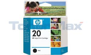 HP NO 20 INKJET BLACK (C6614DN)