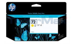 HP NO 72 INK CARTRIDGE YELLOW 130ML (C9373A)