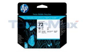 HP NO 72 PRINTHEAD GRAY/PHOTO BLACK (C9380A)