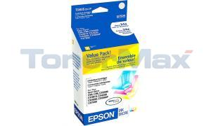 EPSON STYLUS C88 DURABRITE VALUE PACK INK CART COLOR (T060520VP)
