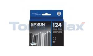 EPSON STYLUS NX125 MODERATE-USE INK CARTRIDGE BLACK (T124120)