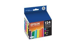 EPSON STYLUS NX125 MODERATE-USE INK CARTRIDGES COMBO-PACK CMYK (T124120-BCS)