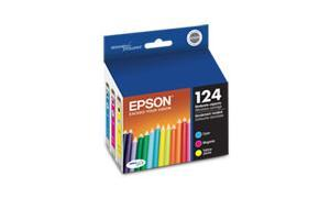 EPSON STYLUS NX125 MODERATE-USE INK CARTRIDGES MULTI-PACK CMY (T124520)