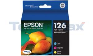 EPSON STYLUS WORKFORCE 630 INK CTG CMY HY MULTI-PACK (T126520)